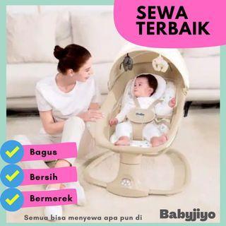 SEWA bouncer baby swing Snuggli edisi PREMIER