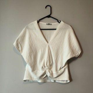 Zara knot top