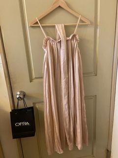 (全新轉賣)緞面百褶洋裝
