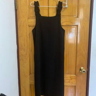 日單 荷葉 洋裝
