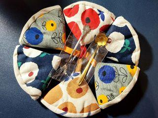 多件 日式 防燙 鍋帽 鍋把套 三角 砂鍋帽 鐵鍋 防燙帽 隔熱手套 鍋蓋隔熱