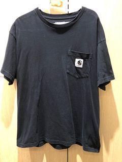 二手正品公司貨 carhartt 黑色短T 尺寸M號