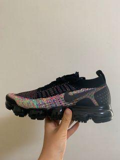 不議價 全新 Nike vapormax flyknit彩虹編織 2.0   26cm 有鞋盒