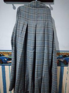 Blue skool skirt