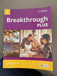 Breakthrough plus 4二手書 教科書 大學用書