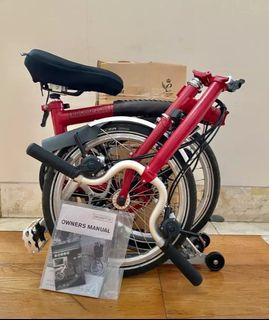 Brompton M6R House Red 2020 Like New