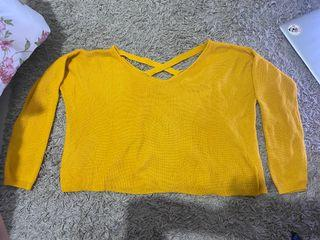 Colorbox sweater yellow mustard
