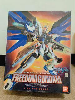 freedom gundam 1/60 ZGMF-10A鋼彈模型