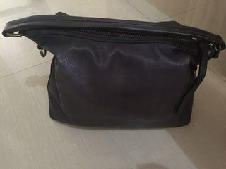 Frye Lily Hobo Navy Two way bag 19k value