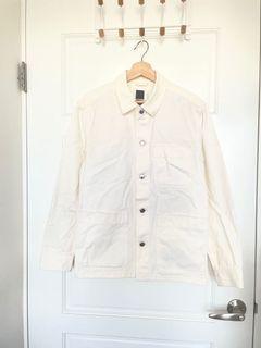 H&M 工作夾克 襯衫外套