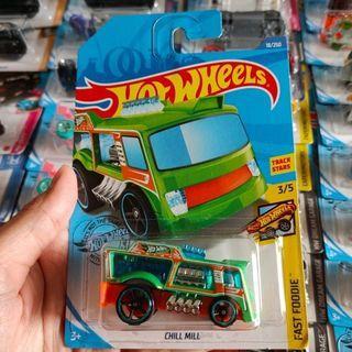 Hot Wheels Hotwheels Chill Mill Hijau