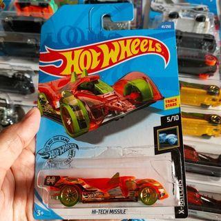 Hot Wheels Hotwheels Hi Tech Missile Orange