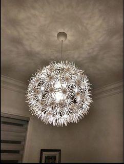 IKEA dandelion light fixture