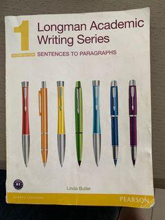 Longman Academic Writing Series 1 二手書 教科書 大學用書