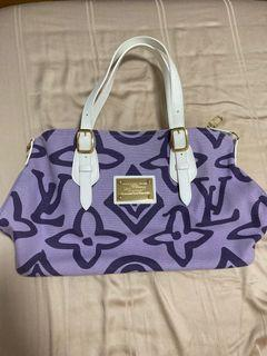 LV purple Tahitienne tote bag