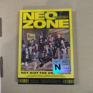 NCT 127 NEO ZONE N VERSION FULL SET