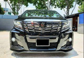 Sambung Bayar Berdeposit Toyota Alphard 2.5 2017/2020 Bulanan rm3100