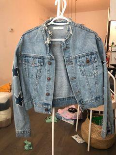 Sandro denim jean jacket