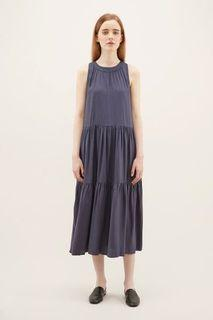 The Editor's Market TEM Jesalin Tiered Midi Dress