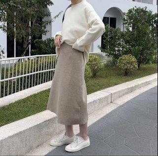 ZARA 白色毛衣