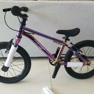 """(水貨)自家一換一保養一年 #兒童單車 Fisher16""""鋁合金皮帶單車"""