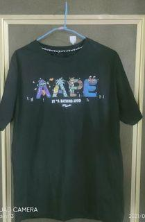 Aape  by bathingt ape xl t 恤
