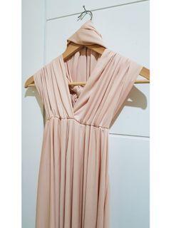 Beige Infinity Dress