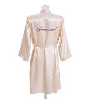 BNIB Bridesmaid Robe