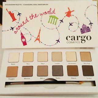 全新12色眼影Cargo Cosmetics調色板(世界色版)看圖看內文#東京