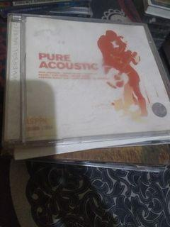 Cd pure acoustic