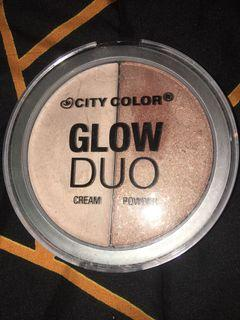 City colour highlighter glow duo