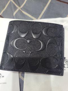 全新正品Coach Wallet w/ card holder ( F75371 )