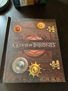 Game of Thrones pop up book