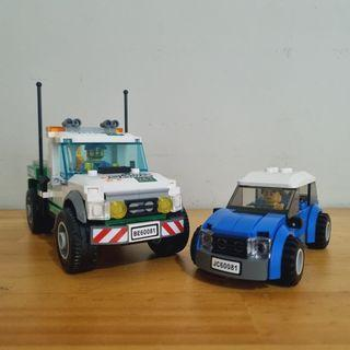LEGO 60081 City Pickup Tow Truck