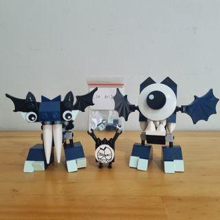 LEGO MIXELS Series 4 - 41533 Globert & 41534 Vampos