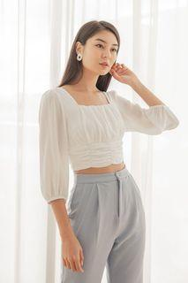 Lovet Dahlia Ruched Top