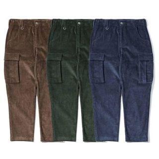 M-30腰【Jks】絕版AGILITY 燈芯絨工作褲 錐形直筒 六口袋 軍褲 [A4.5]