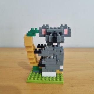 Nano Block Original Jepang Koala