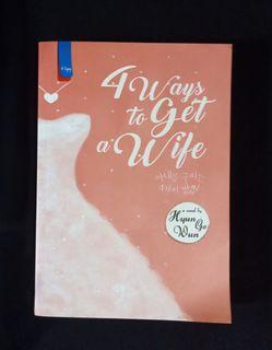Novel Korean Preloved - 4 ways to Get a Wife