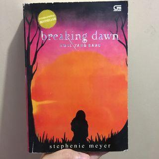 Novel Terjemahan Twilight Breaking Dawn
