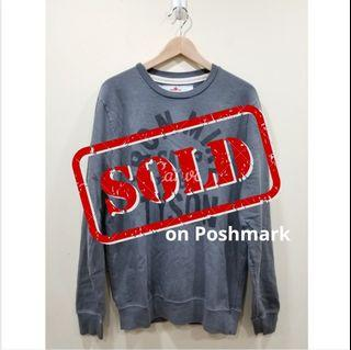 NWOT | Roots Of Fight | Grey Terry Sweater | M