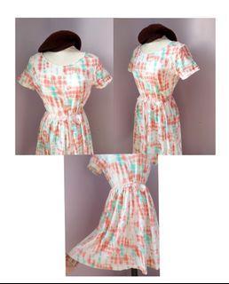 Pastel Tie Dye Dress