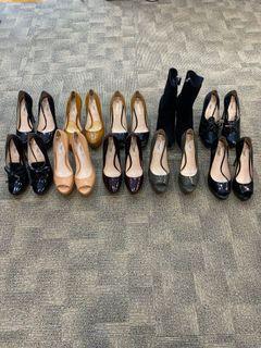 Pre loved Prada heels and boot/wedges
