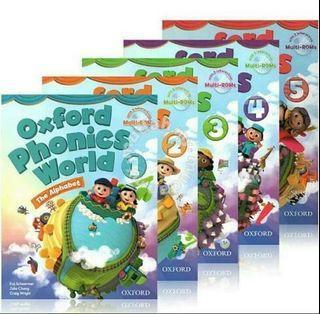 10pcs Oxford Phonics World Book Set Brand New