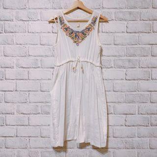 TIARA TIARA 刺繡洋裝