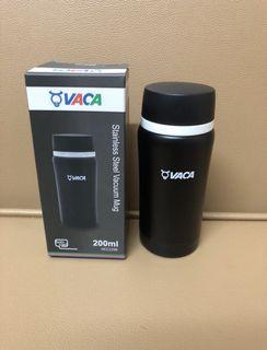 VACA stainless steel vacuum Mug 不銹鋼真空保溫瓶200ml