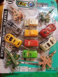 交通工具 迴力車*12