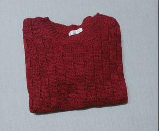 磚紅色毛衣 #女裝賣家