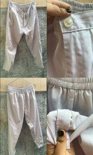 Baggy pants white