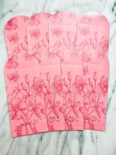 Crabtree & Evelyn VIP Gift Pink Envelops Set Of 8 Packet Hand